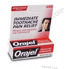 Orajel (Benzocaine 10%) Regular Strength Gel - 0.25 oz