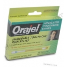 Orajel (Benzocaine 20%) Medicated Toothache Swabs - 12 Unit-Dose Swabs