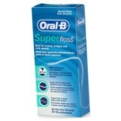 Oral B Super Floss Mint - 50 Pre-Cut Strands