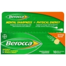 Berocca Effervescent Tablets, Orange- 10ct