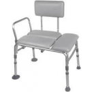Padded Seat Transfer Bench 27.5 inches**********ONLY 1 LEFT IN STOCK