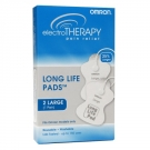 Omron Electrotherapy TENS PMLLPAD-L Pain Relief Device Large Replacement Pads