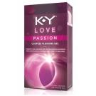 K-Y Love Passion Pleasure Gel - 1.69oz Tube