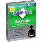 Wellpatch Backache Pain Relief Patch, Extra Large- 4ct