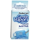 Pediacare Gentle Vapors Plug-In Unit Refill Pads - 5 Count Box