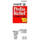 Pedia Relief Cough & Cold Syrup- 4oz