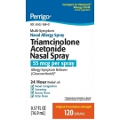 Perrigo Triamcinolone acetonide 55mcg 24HR 120 Sprays/0.57oz