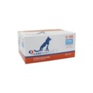 Carepoint Veterinary U-100 Insulin Syringe 31 Gauge, 1/2cc, 5/16