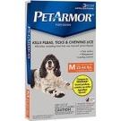PetArmor Flea & Tick Protection for Dogs 23-44lbs, 3ct