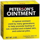 Peterson's Hemorrhoid Ointment-3oz
