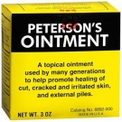 Peterson's Ointment Jar- 3oz