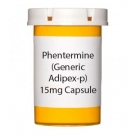 Phentermine (Generic Adipex-p) 15mg Capsule