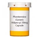 Phentermine (Generic Adipex-p) 30mg Capsule