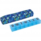 Apex 7-Day AM/PM Pill Organizer with Decorative Sleeve XXLarge