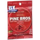 Pine Bros. Original Softish Throat Drops, Wild Cherry- 32ct
