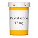 Pioglitazone 15 mg Tablets (Generic Actos)