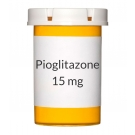 Pioglitazone 15 mg Tablets (Generic Actos)