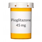Pioglitazone 45 mg Tablets (Generic Actos)