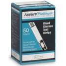Assure Platinum Test Strip- 100ct (1-3 Units)
