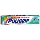 Poli-Grip Free Denture Adhesive Cream 2.4oz