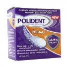 Polident Partials Antibacterial Denture Cleanser- 40ct