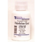 Polyethylene Glycol 3350 (PEG-3350) Powder - 255g Bottle