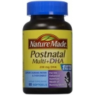 Nature Made Postnatal Multi+DHA 200 mg DHA Softgels - 60ct