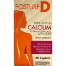 Posture-D Calcium with Vitamin D & Magnesium 600mg Caplets- 60ct