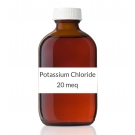 Potassium Chloride 10% (20meq/15ml) Solution (Orange Flavor) - 16oz Bottle-473ml