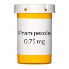 Pramipexole 0.75 mg Tablets