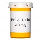 Pravastatin 40 mg Tablets (Generic Pravachol)