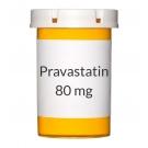 Pravastatin 80 mg Tablets (Generic Pravachol)