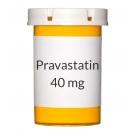 Pravastatin 40 mg Tablets