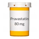 Pravastatin 80 mg Tablets