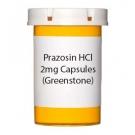 Prazosin HCl 2mg Capsules (Greenstone)
