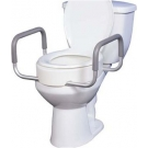 Premium Seat Riser with Removable Arms for Standard Toilets ****SPECIAL PRICE ONLY 1 LEFT IN STOCK***