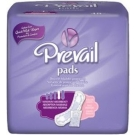 Prevail Bladder Control Pads Xtra Plus Absorbency 11 in Long 144/Case