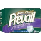 Prevail Super Plus Protective Underwear, Small/Medium (34