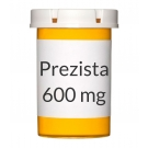Prezista 600mg Tablets - 60 Count Bottle