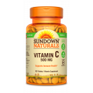Sundown Naturals High Potency Vitamin C 500mg Tablets 100ct
