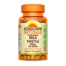 Sundown Naturals Milk Thistle XTRA Herbal Supplement 240mg Capsules- 60ct
