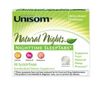 Unisom Natural Nights NighTime SleepTabs - 30 Tablets
