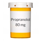 Propranolol 80mg Tablets