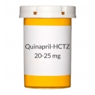 Quinapril-HCTZ 20-25 mg Tablets