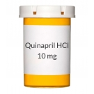 Quinapril HCl 10 mg Tablets (Generic Accupril)