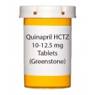 Quinapril HCTZ 10-12.5 mg Tablets (Greenstone)