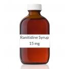 Ranitidine Syrup 15 mg/ml (Generic Prescription Zantac) - 473ml (16oz) Bottle