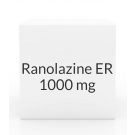 Ranolazine ER 1000mg Tablets