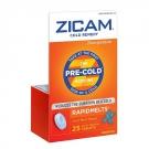 Zicam Cold Remedy RapidMelts Quick Dissolve Tablets, Cool Mint- 25ct