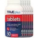 TRUEplus Glucose Tablet, Raspberry- 6-10ct packs